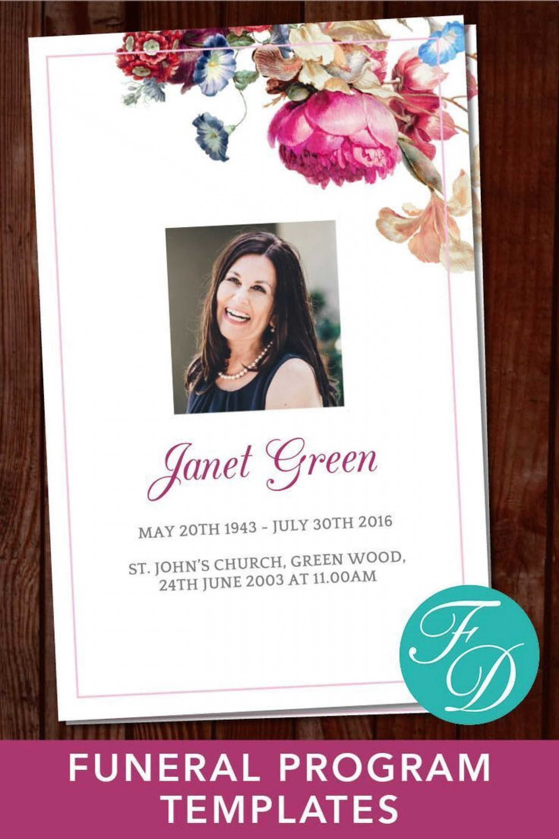 001 Awful Celebration Of Life Template Free Download Sample  Invitation1920