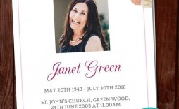 001 Awful Celebration Of Life Template Free Download Sample  Invitation