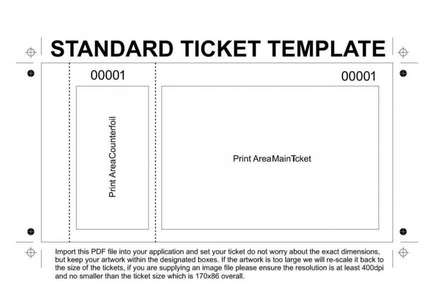 001 Awful Concert Ticket Template Google Doc Highest Clarity 868