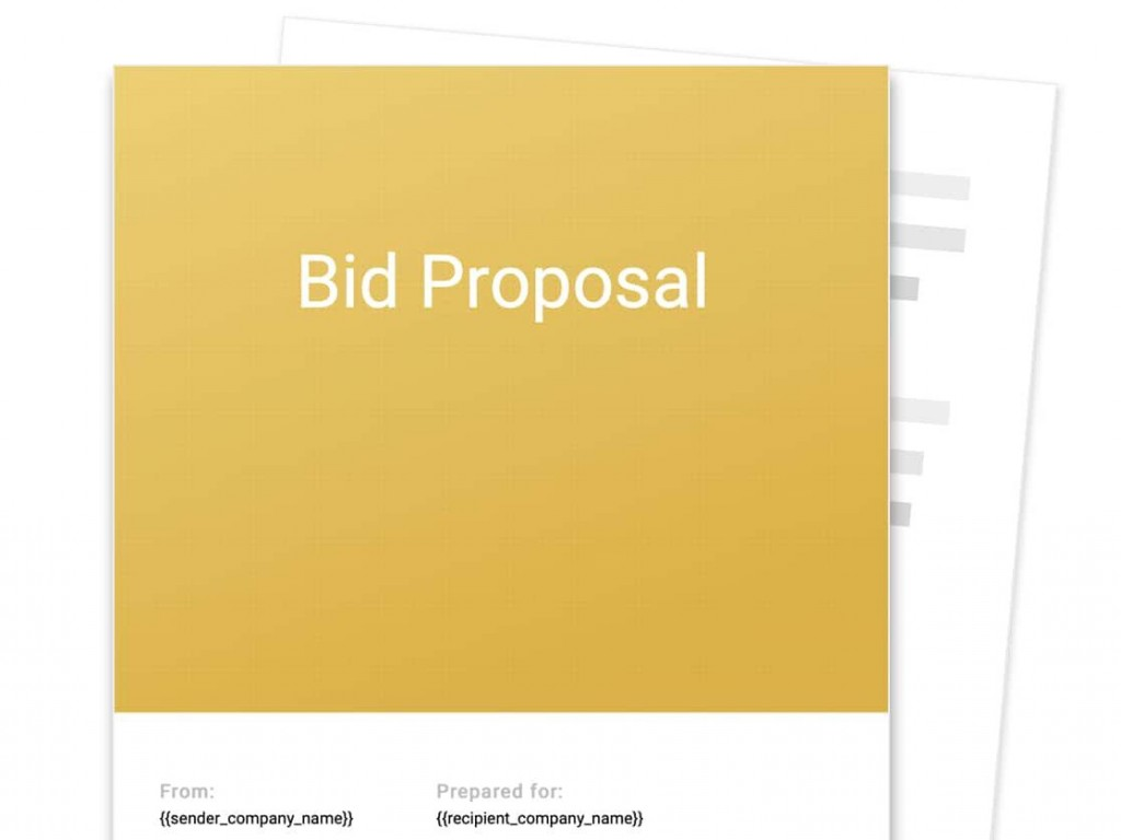 001 Awful Contractor Proposal Template Pdf Sample  Construction Bid Upwork FreeLarge