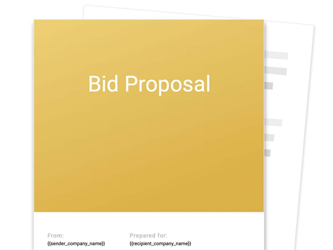 001 Awful Contractor Proposal Template Pdf Sample  Construction Bid Upwork FreeFull