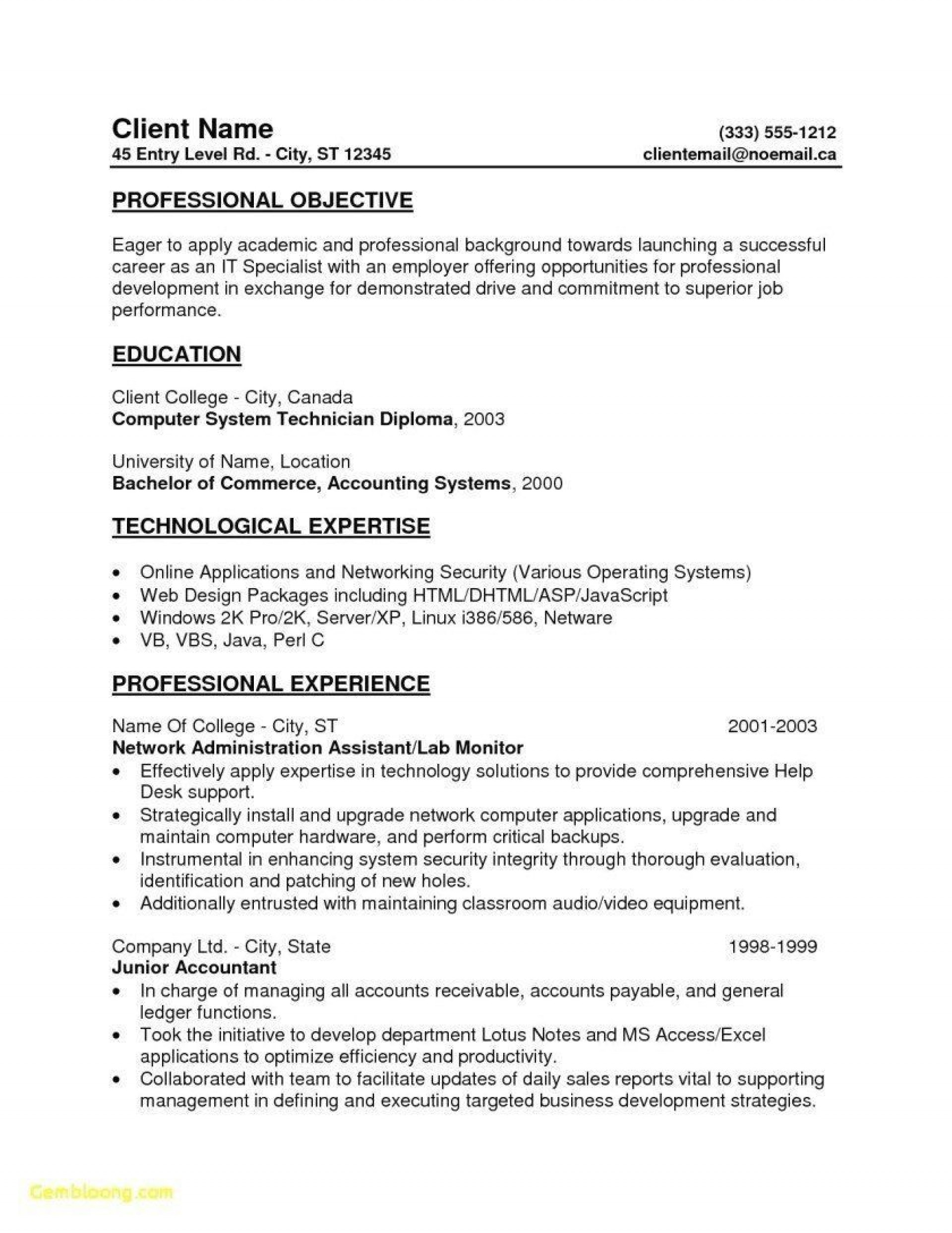 001 Awful Entry Level Resume Template Word Highest Clarity  Free For1920