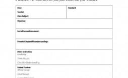 001 Awful Fillable Lesson Plan Template Free Inspiration  Printable Editable