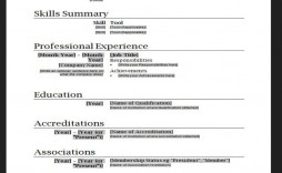001 Awful Free Basic Blank Resume Template Photo  Templates Word Printable To Print