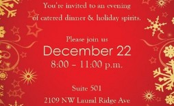 001 Awful Free Holiday Invitation Template Sample  Online Party Christma