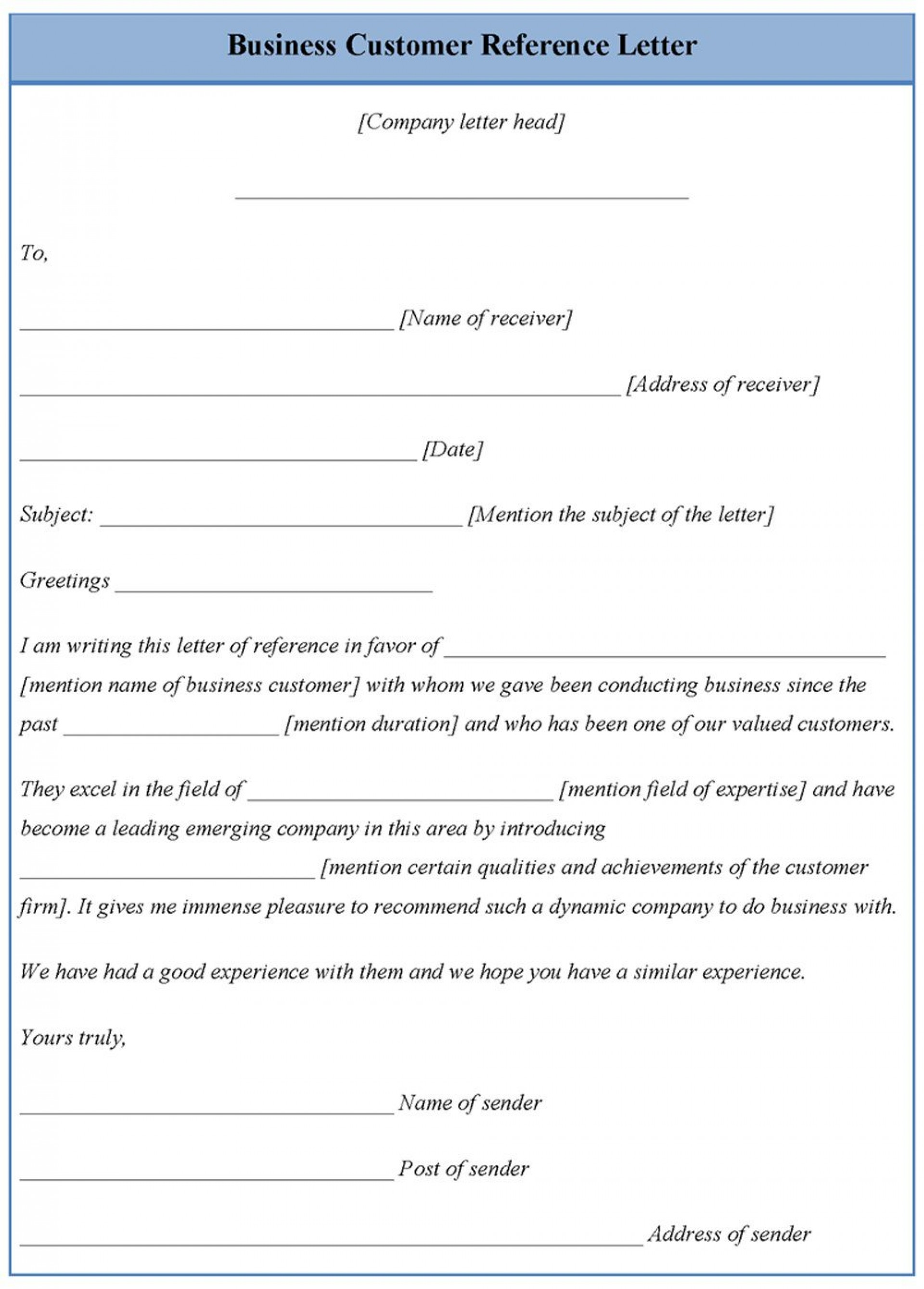 001 Awful Free Reference Letter Template Photo  Personal Character For Employee Employment1920