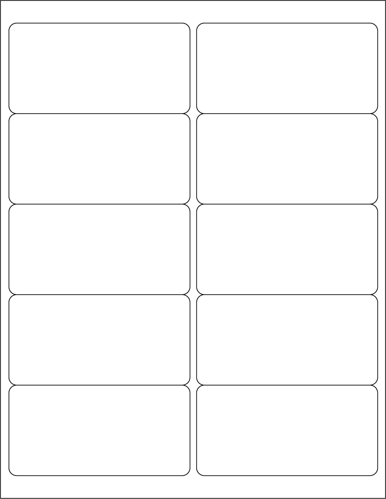 001 Awful Label Template For Word Design  Avery 14 Per Sheet Free 21 A4Full