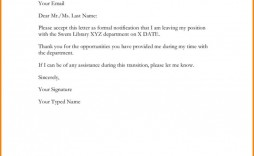 001 Awful Letter Of Resignation Template Free Highest Clarity  Pdf Sample