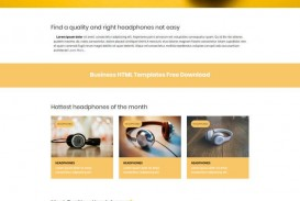001 Awful Simple Web Page Template Inspiration  Html Website Free Download In Design Using And Cs