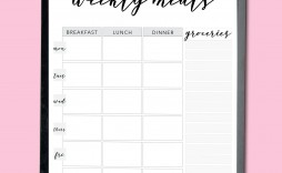 001 Awful Weekly Meal Plan Template App High Def  Apple Page
