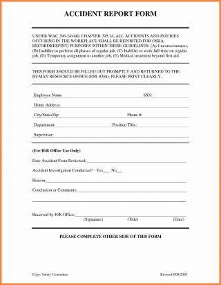 001 Awful Workplace Injury Report Form Template Ontario Highest Clarity 320