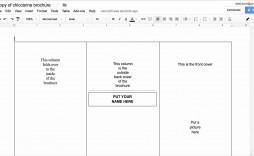 001 Beautiful Brochure Template Google Doc Design  Layout Blank Tri Fold