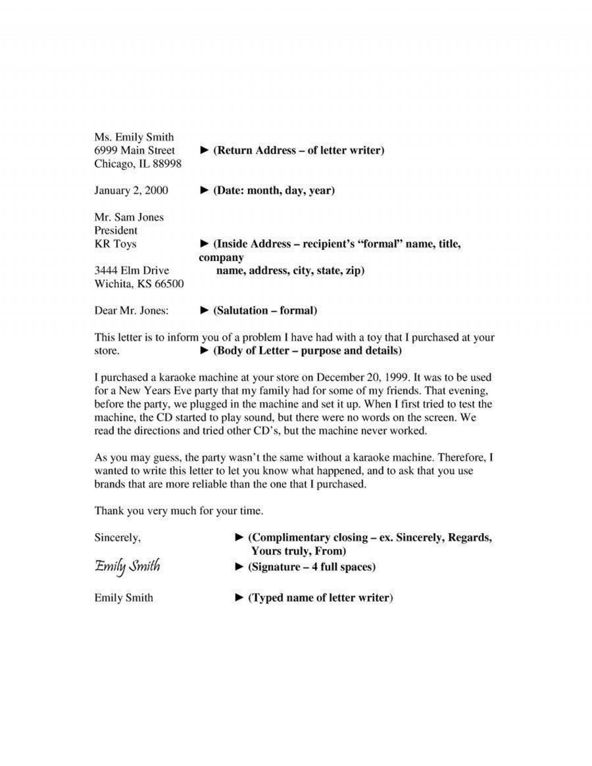 001 Beautiful Formal Busines Letter Template High Definition  Pdf Australia Format1920