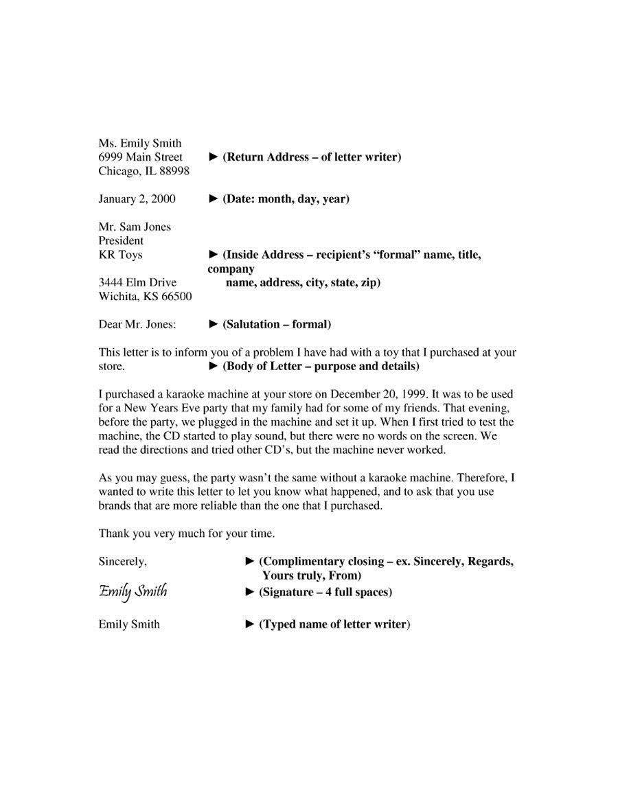 001 Beautiful Formal Busines Letter Template High Definition  Pdf Australia FormatFull