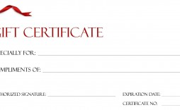 001 Beautiful Free Printable Template For Gift Certificate Sample  Certificates Voucher Birthday