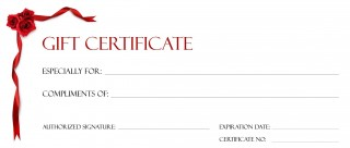 001 Beautiful Free Printable Template For Gift Certificate Sample  Voucher320