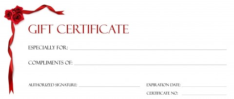 001 Beautiful Free Printable Template For Gift Certificate Sample  Voucher480