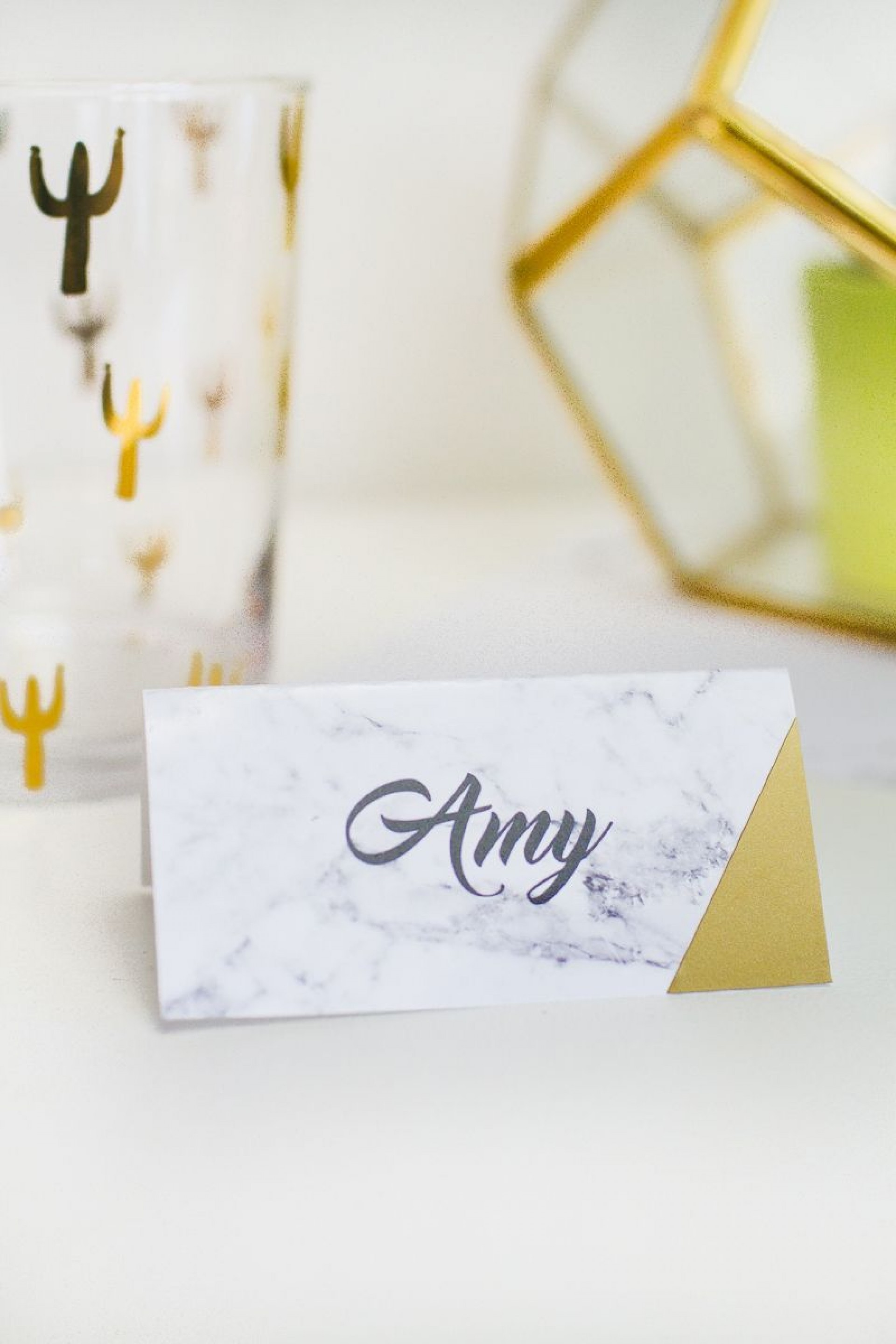 001 Beautiful Free Table Name Place Card Template Sample  Placement1920