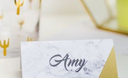 001 Beautiful Free Table Name Place Card Template Sample  Placement