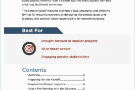 001 Beautiful Project Kickoff Meeting Template Excel High Def