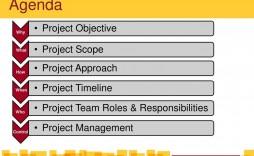 001 Beautiful Project Management Kick Off Meeting Agenda Template Image  Kickoff