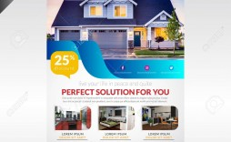 001 Beautiful Real Estate Flyer Template High Definition  Publisher Word Free