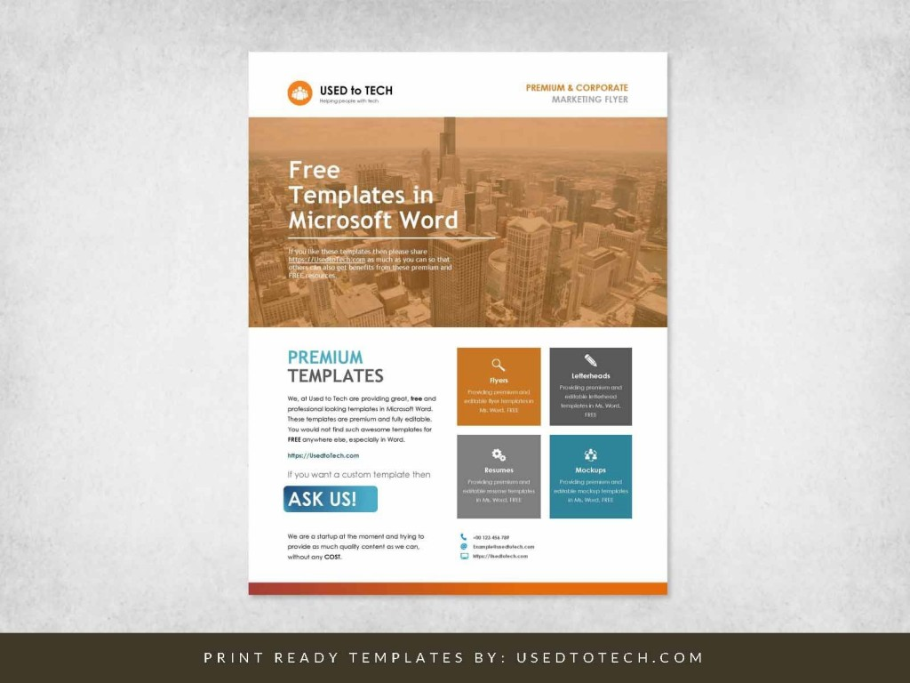 001 Beautiful Template Brochure For Microsoft Word Free Concept  Flyer Bowling Tri Fold 2010Large