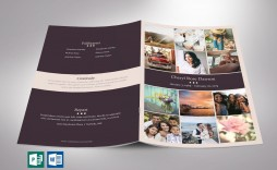 001 Beautiful Template For Funeral Program Publisher Concept