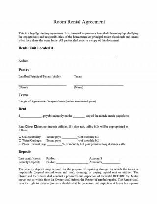001 Best Basic Rental Agreement Template High Resolution  Simple Word Tenancy Free320