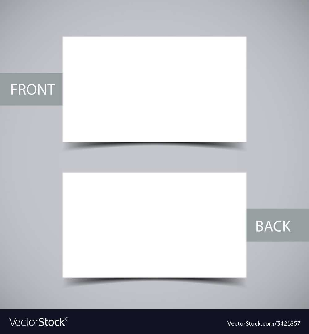 001 Best Blank Busines Card Template Free Download Photo  PsdFull