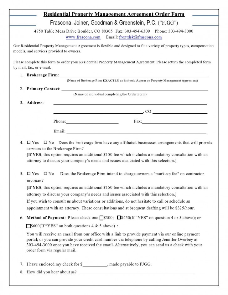 001 Best Commercial Property Management Agreement Template Uk Photo 728