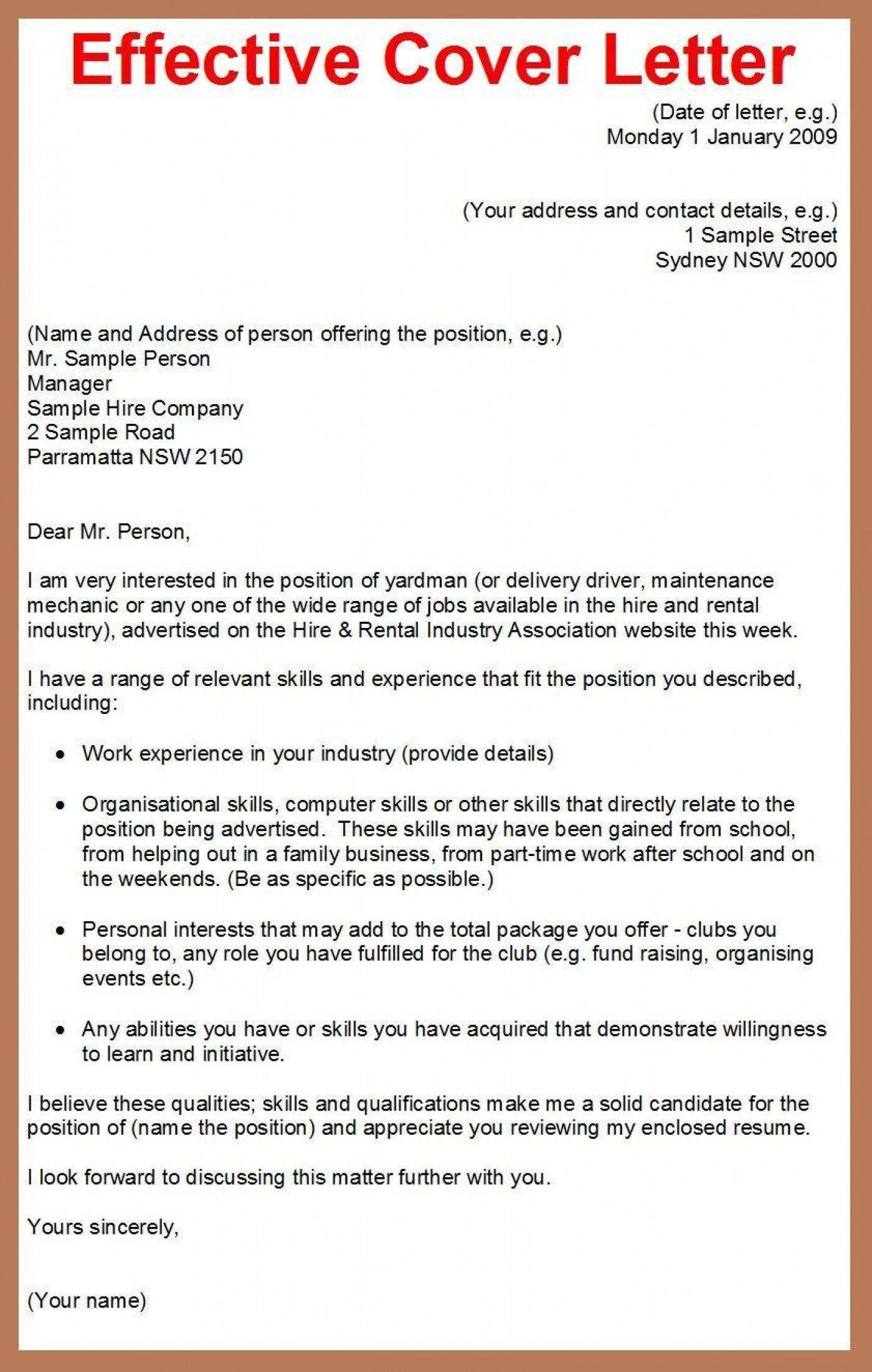 001 Best Cover Letter Writing Sample Highest Clarity  Example For Content Job Resume1400