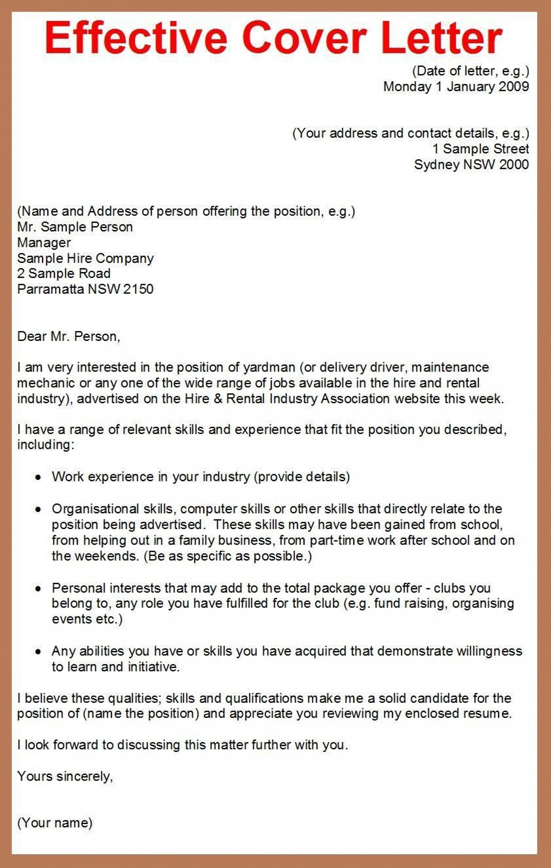 001 Best Cover Letter Writing Sample Highest Clarity  Example For Content Job Resume1920