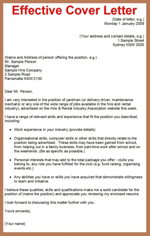 001 Best Cover Letter Writing Sample Highest Clarity  Example For Content Job Resume480