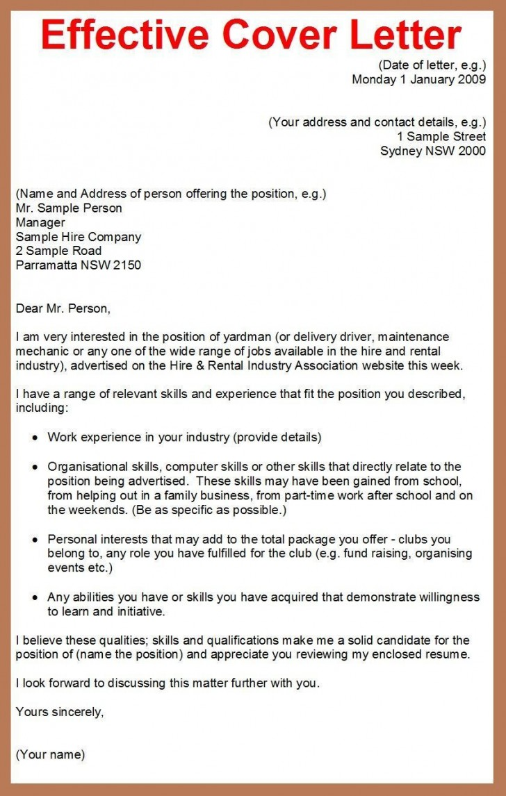 001 Best Cover Letter Writing Sample Highest Clarity  Example For Content Job Resume728