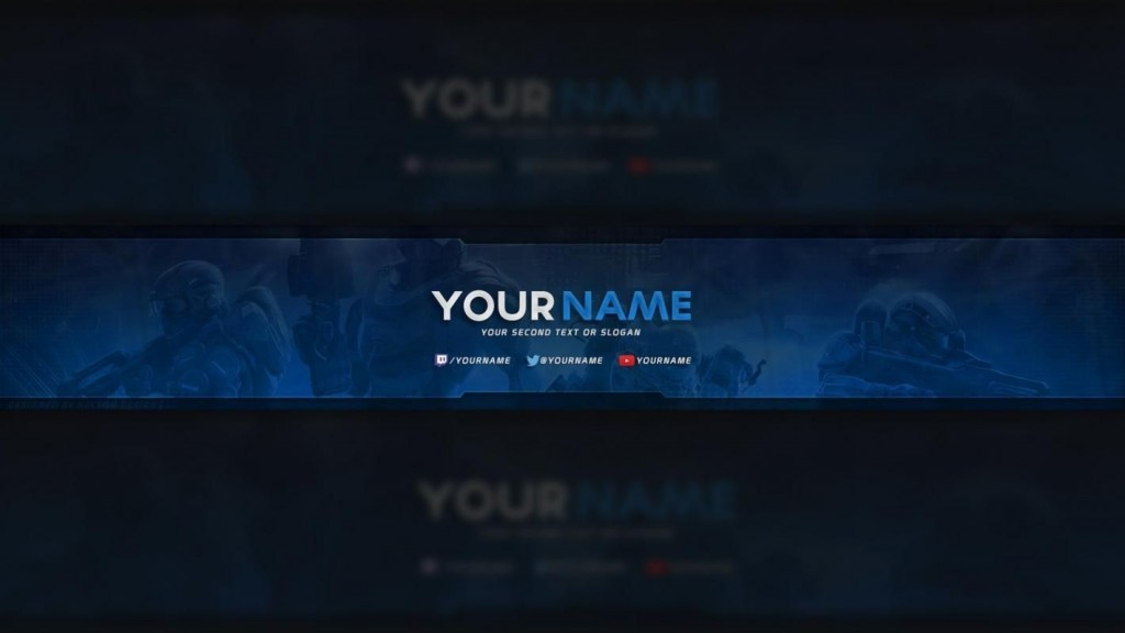001 Best Free Channel Art Template Picture Large