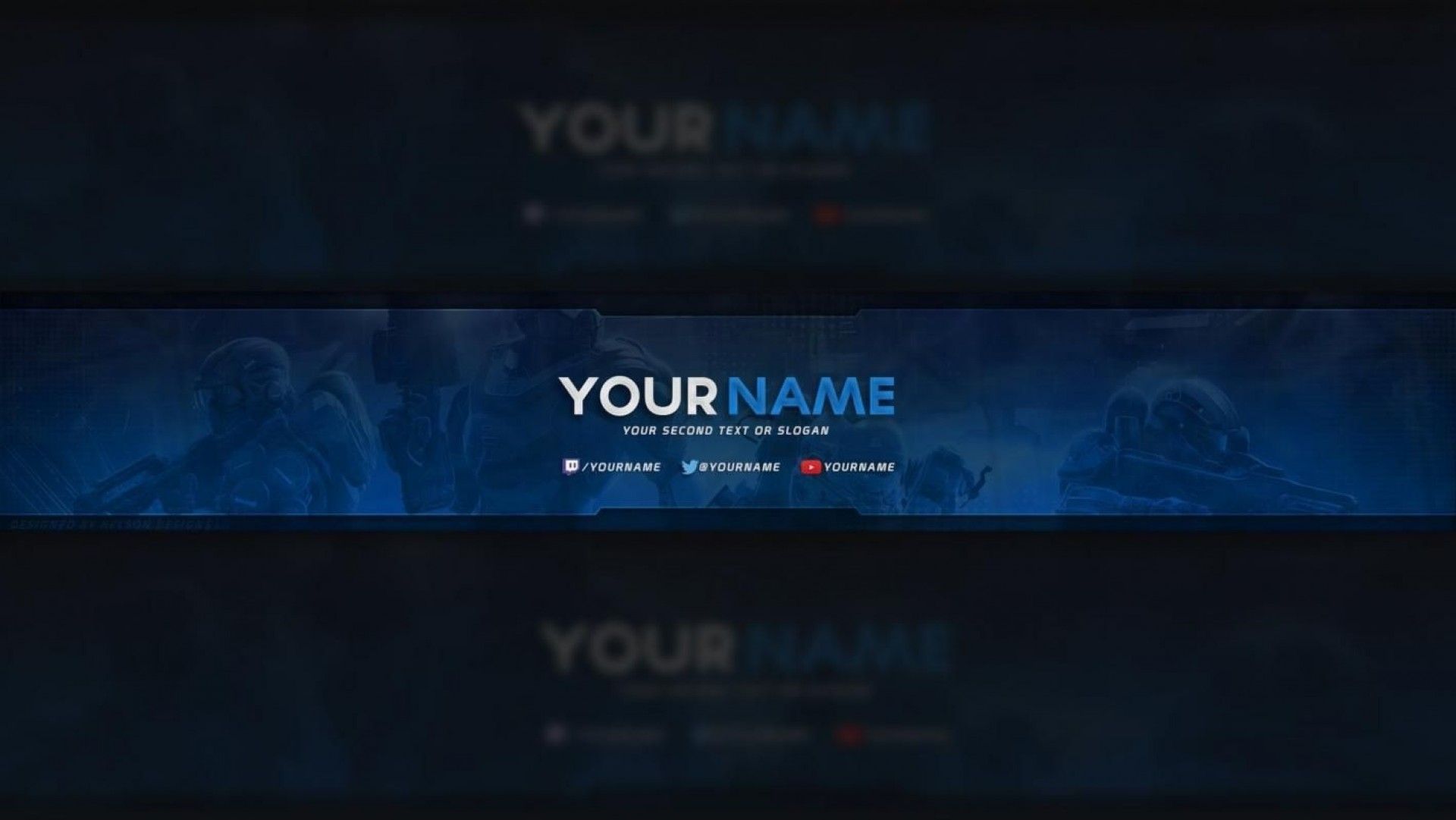 001 Best Free Channel Art Template Picture 1920