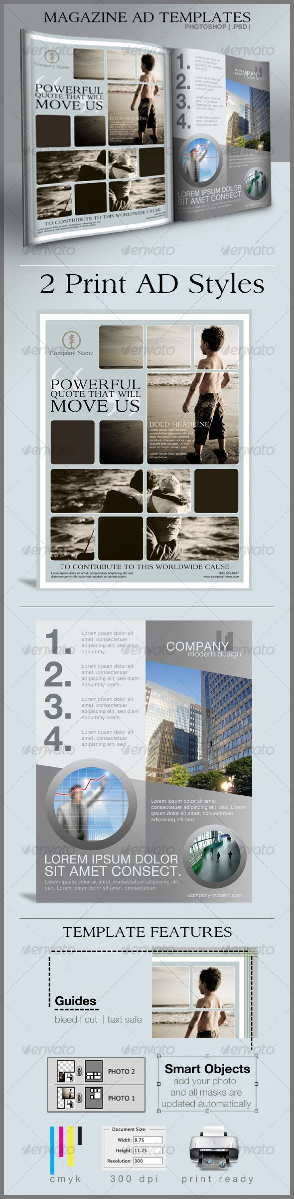 001 Best Free Print Ad Template Image  Templates Real Estate For WordLarge