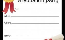001 Best Free Printable Graduation Invitation Template Inspiration  Templates Kindergarten Preschool Party For Word
