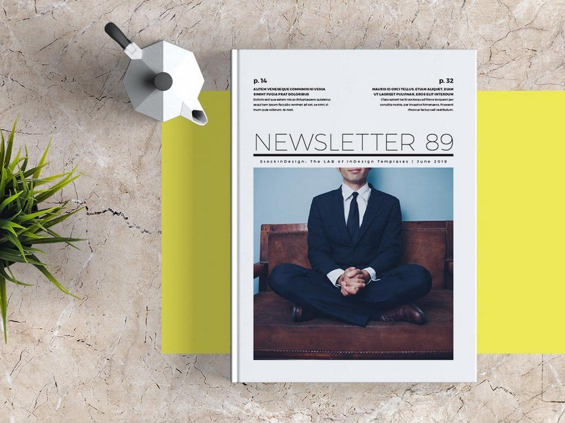 001 Best Indesign Cs6 Newsletter Template Free Download High Def Full