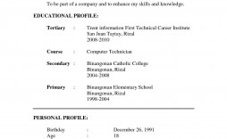 001 Best Resume Sample Free Download Doc Example  For Fresher Pdf