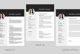 001 Best Resume Template Word Free Image  Download 2020 Doc