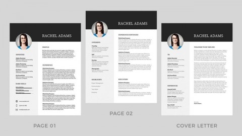 001 Best Resume Template Word Free Image  Download 2020 Doc480