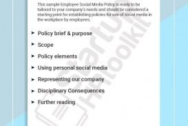 001 Best Social Media Policie Template High Def  Simple Policy Australia Example For Small Busines