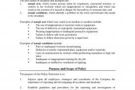 001 Best Workplace Incident Report Form Western Australia Image