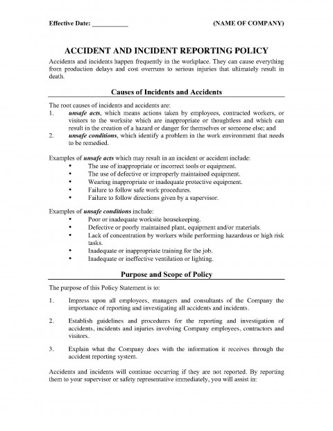 001 Best Workplace Incident Report Form Western Australia Image 480