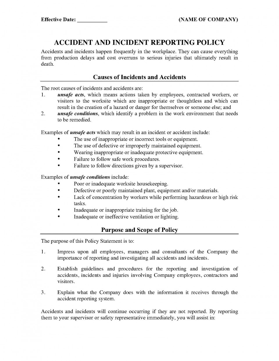 001 Best Workplace Incident Report Form Western Australia Image 960