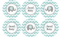 001 Breathtaking Free Baby Shower Printable Elephant Inspiration  Decoration