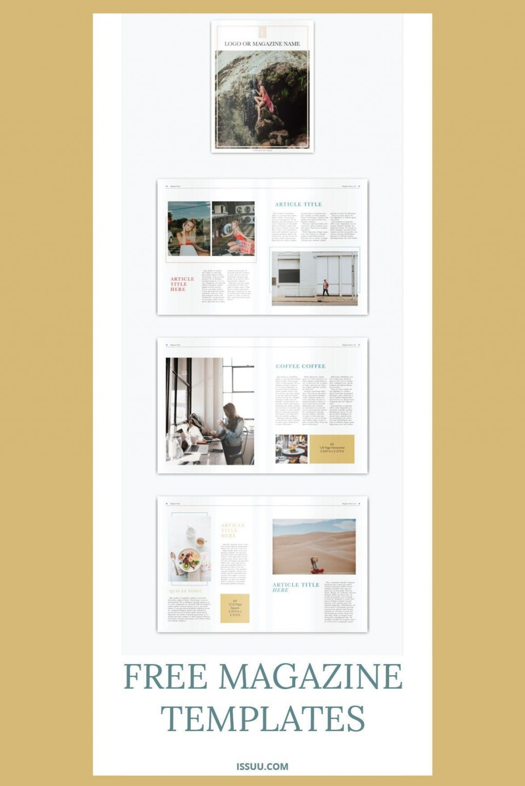 001 Breathtaking Free Magazine Layout Template Design  Templates For Word Microsoft PowerpointLarge