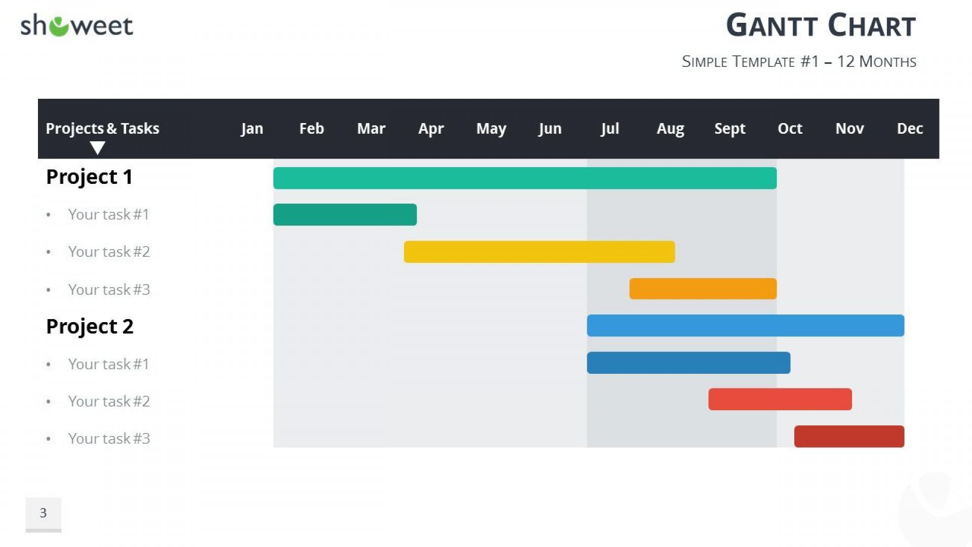 001 Breathtaking Gantt Chart Powerpoint Template Idea  Microsoft Free Download Mac1920